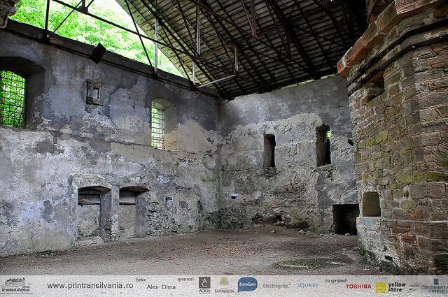 Inside the furnace walls – Author: Prin Transilvania – CC BY 2.0