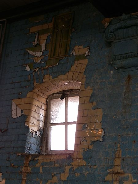 A decaying interior. Author:Delusion23CC BY-SA 4.0