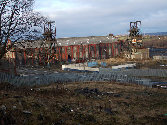 A panoramic view of Penallta Colliery. Author:fromthevalleysCC BY-ND 2.0