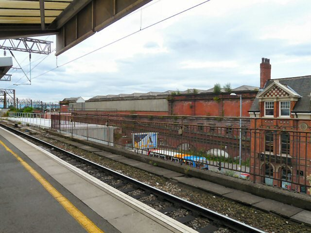 A photo of the abandoned station taken from Piccadilly Station. Author:Gerald EnglandGerald England