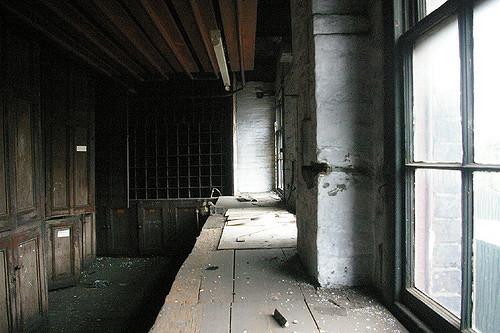A row of windows. Author:http://underclassrising.net/CC BY-SA 2.0