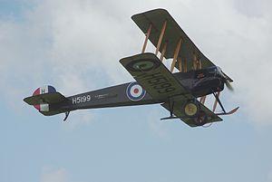 Avro 504. Author:TSRLCC BY-SA 3.0