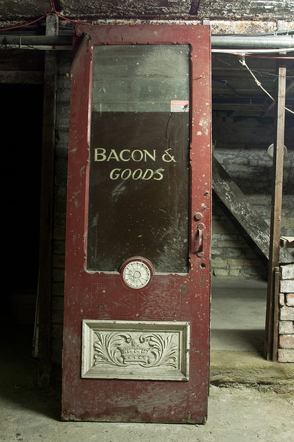 Bacon and goods. Author:simon sugdenCC BY 2.0