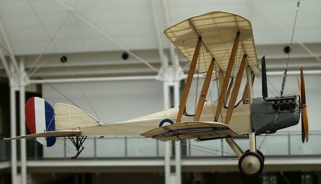 BE2c at the Imperial War Museum. Author:Stahlkocher