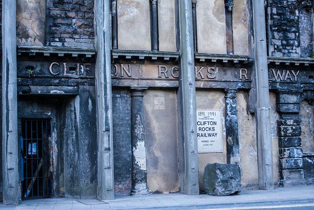 Clifton Rocks Railway entrance. Author:Adrian ScottowCC BY-SA 2.0