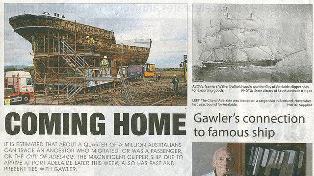 Coming home. Author:Gawler HistoryCC BY-SA 2.0