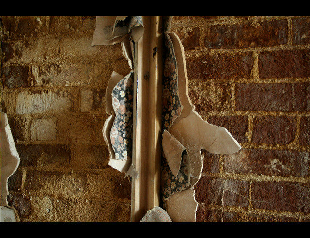 Destroyed wallpaper. Author:Olga PavlovskyCC BY 2.0
