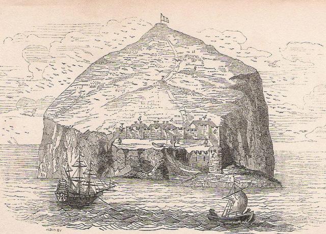 Drawing of Bass Island. Author: David LauderCC BY-SA 3.0