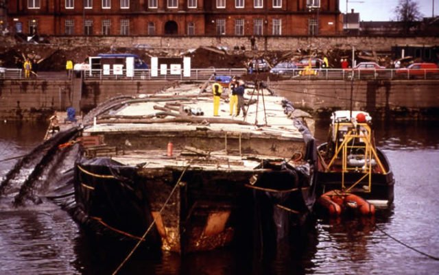 During her recovery. Author:Scottish Maritime MuseumCC BY 3.0