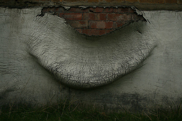 Huge paint peel. Author:Olga PavlovskyCC BY 2.0