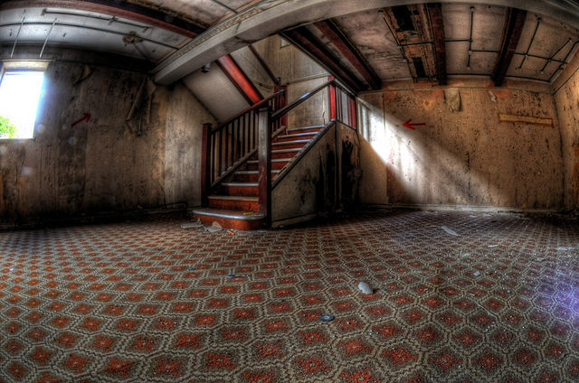 Inside one of the buildings. Author:Pixel-LogicCC BY 2.0
