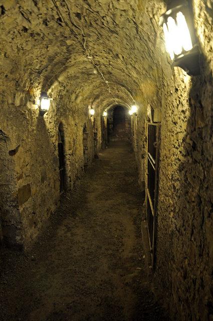 Inside the limestone vaults. Author:Jennifer BoyerCC BY 2.0
