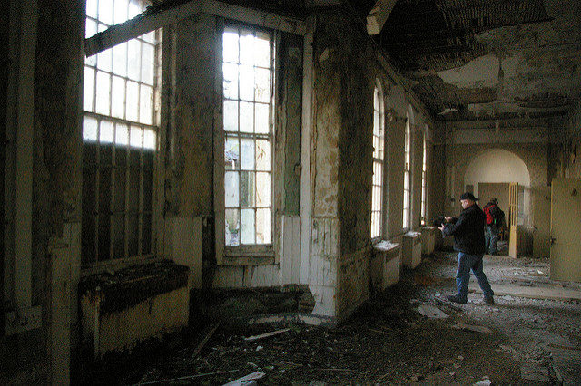 It was one of the most popular places among the urban explorers in England. Author: http://underclassrising.net/. CC BY-SA 2.0
