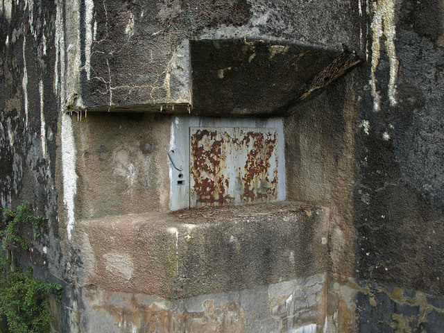 A locked block of the fortification. Author:Morten JensenCC BY 2.0