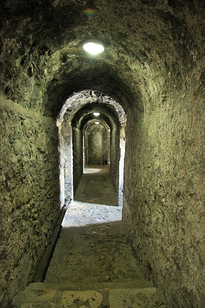 One of the castle's corridors. Author:Karen Roe from Bury St Edmunds, Suffolk, UK, United KingdomCC BY 2.0