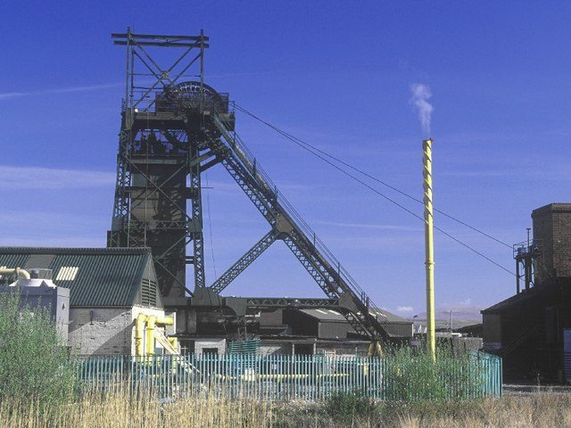 One of the machines at Tower Colliery. Author: Kev GriffinCC BY-SA 2.0