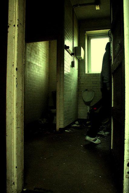 Part of the abandoned toilet. Author:Olga PavlovskyCC BY 2.0