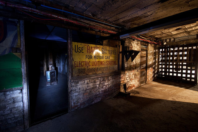 Part of the underground shop. Author:simon sugdenCC BY 2.0