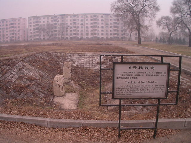 Some of the destroyed buildings. Author: 松岡明芳CC BY-SA 3.0