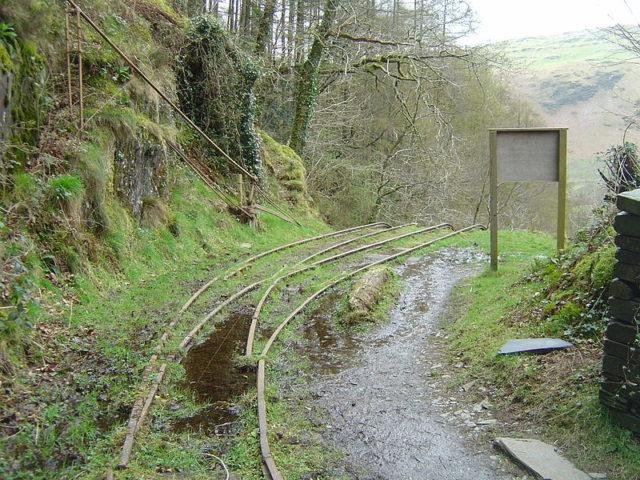 The Alltwyllt incline. Author:© Optimist on the run, 2008 /CC BY-SA 3.0