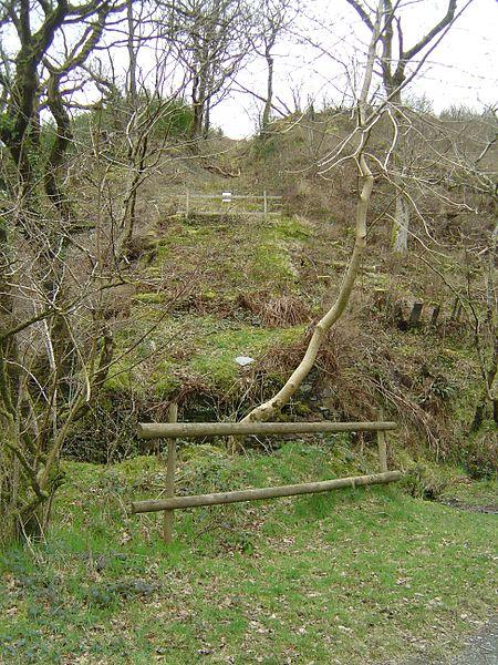 The Cantrybedd incline. Author:© Optimist on the run, 2008 /CC BY-SA 3.0
