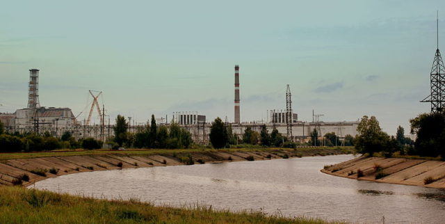 The Chernobyl nuclear power plant. Author:calflier001CC BY-SA 2.0