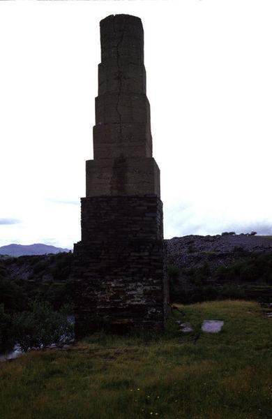 The Dorothea beam engine chimney. Author:Chris AllenCC BY-SA 2.0
