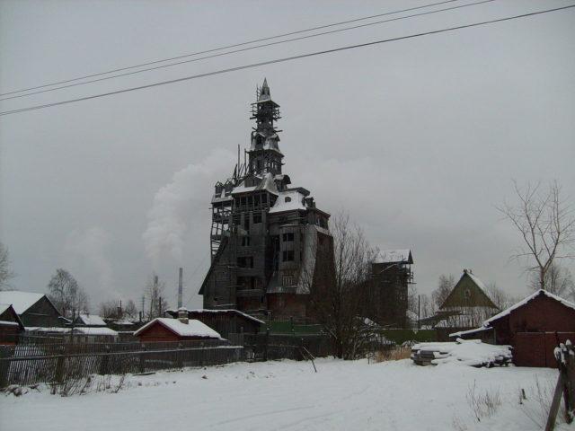 The dream house of the Russian gangster Nikolai Petrovich Sutyagin.