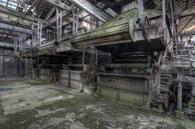 The dye works. Author:Noel JenkinsCC BY-SA 2.0