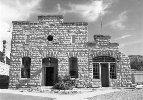The early Idaho State Penitentiary. Author:Peter WollheimCC BY 2.5