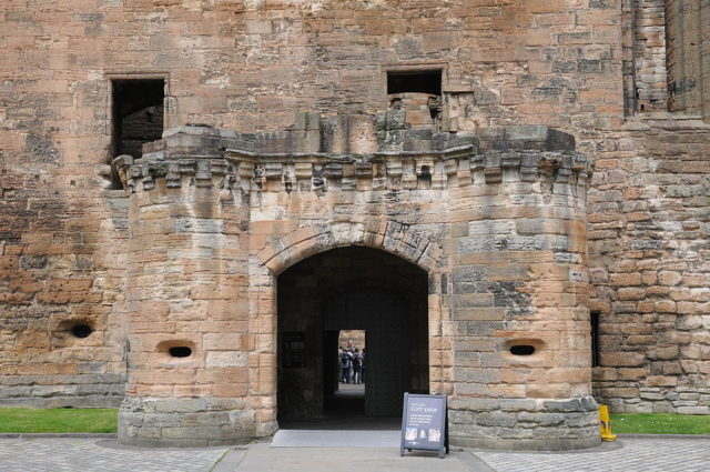 The entrance to the gift shop. Author: Sir Gawain. CC BY-SA 3.0