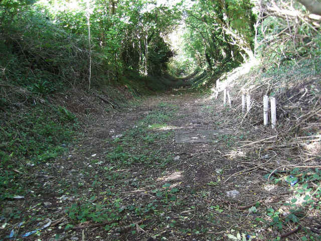 The former A&GR trackbed. Author:AfterbrunelCC BY-SA 3.0