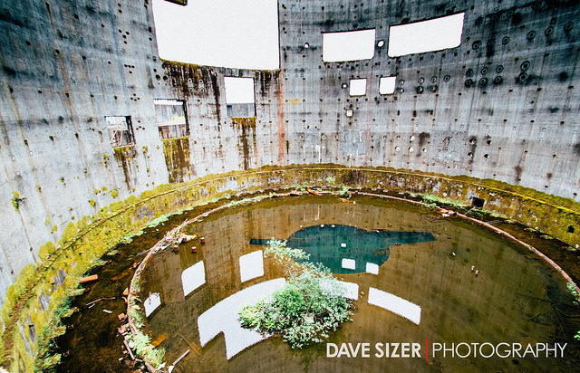 The interior of a different tower. Author:Dave SizerCC BY 2.0