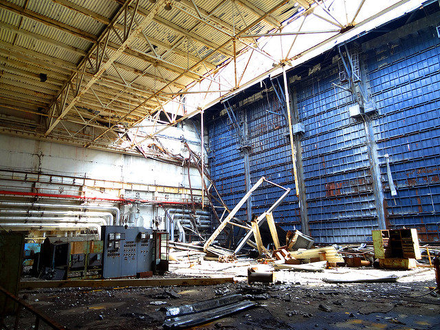 The interior of the nuclear plant in 2013. Author:IAEA ImagebankCC BY-SA 2.0