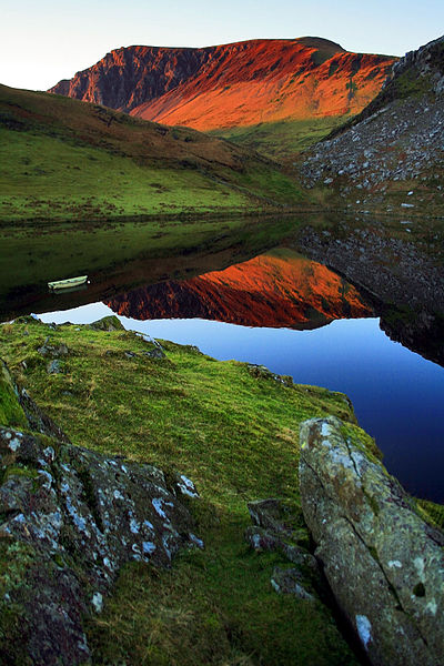 The Nantlle Valley. Author:RICHARD OUTRAM from WalesCC BY 2.0