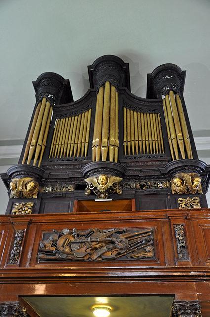 The pipe organ. Author:Jennifer BoyerCC BY 2.0