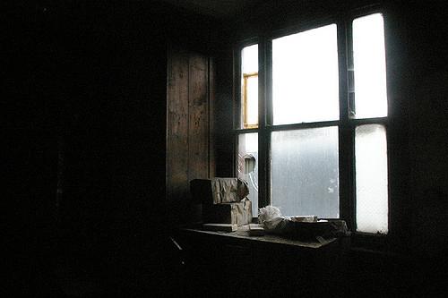 The sun illuminating a dark room. Author:http://underclassrising.net/CC BY-SA 2.0