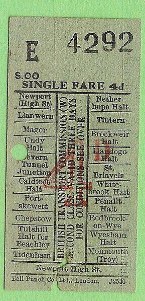 The train ticket. Author:Antarchie
