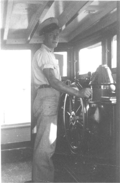 The wheelhouse in 1942. Author:Unknown photographer