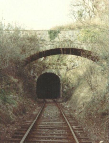 Tidenham Tunnel in 1980. Author:Bill BlairCC BY-SA 2.0