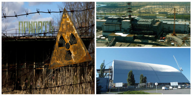 Chernobyl Nuclear Power Plant - Cleaning disorder until 2065