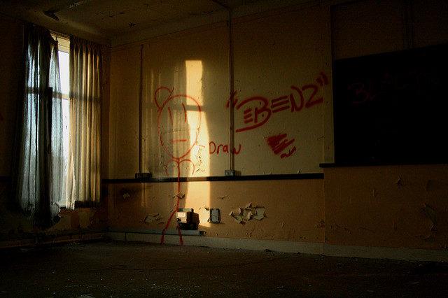 Wild West theme graffiti. Author:Olga PavlovskyCC BY 2.0