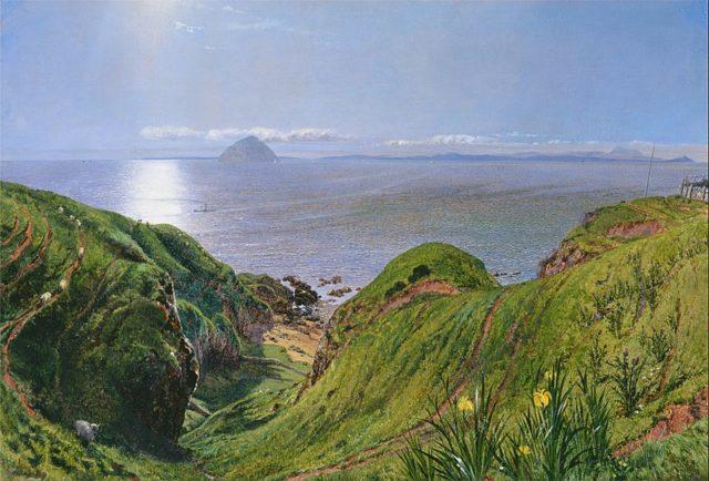 William Bell Scott, oil on canvas. Author: William Bell ScottPublic Domain