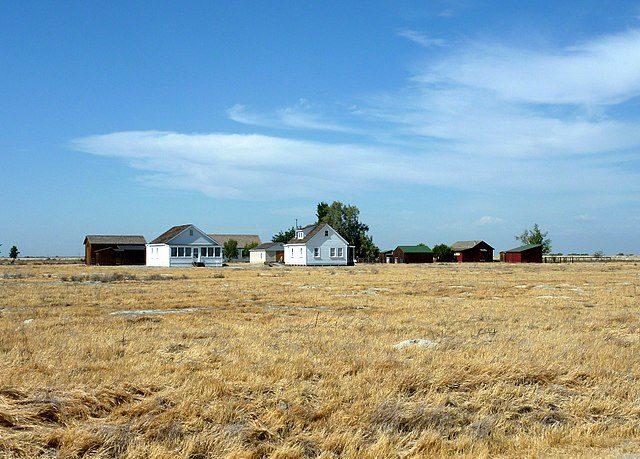Colonel Allensworth State Historic Park, Allensworth, California, USA – Author: Bobak Ha'Eri – CC BY 3.0