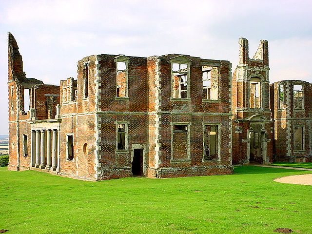 Ruins of Houghton House