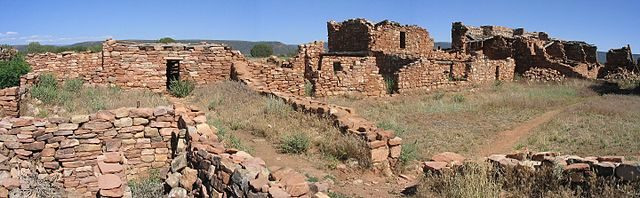The pueblo was home to more than 1000 people