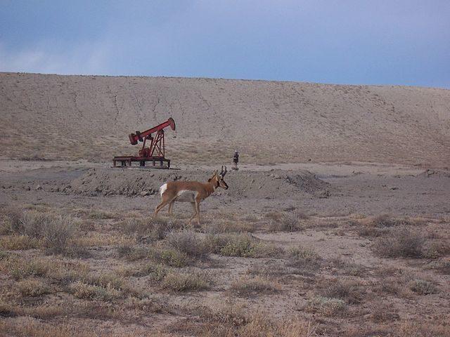 Oil well/ Author:Trueblood786 – CC BY-SA 3.0