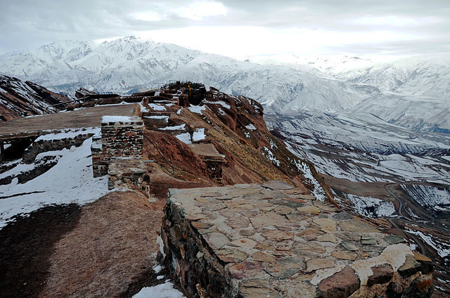 Eagle-eye view from the castle. Author: Alireza Javaheri – CC BY 3.0