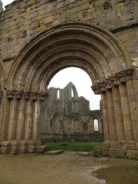 A cloister portal. Author:DrMoschiCC BY-SA 4.0