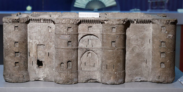 A model of the Bastille. Author:Pierre-Yves BeaudouinCC BY-SA 4.0